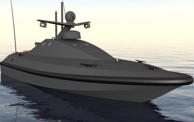 Фото: Беспилотный катер для Морской охраны (trident-ua.info)