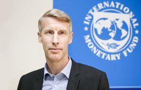 Постпред МВФ в Украине Йоста Люнгман сообщил, что дата визита миссии Фонда в Украину не определена (фото: imf.org)