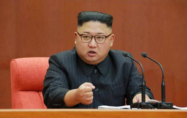 Фото: глава КНДР Ким Чен Ын (kcna.kp)