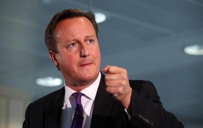 Фото: премьер-министр Великобритании Дэвид Кэмерон