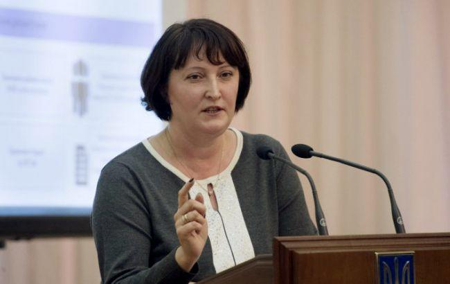 Корчак проинформировала , сколько е-деклараций подано в список