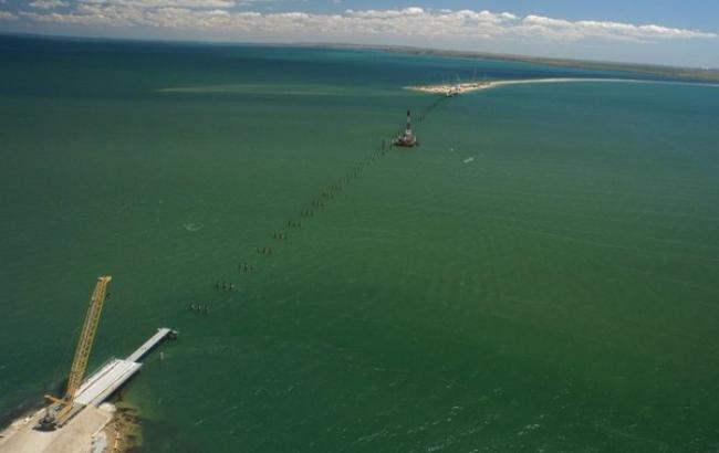 У Криму побудують три допоміжні мости в Керченській протоці