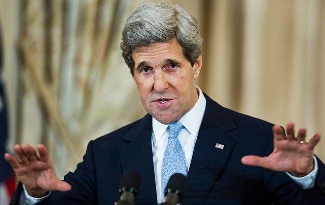 Фото: Джон Керри в Москве поднимет вопрос имплементации минских соглашений