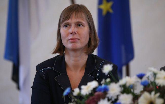 Президент Естонії заявила про необхідність продовження санкцій проти Росії