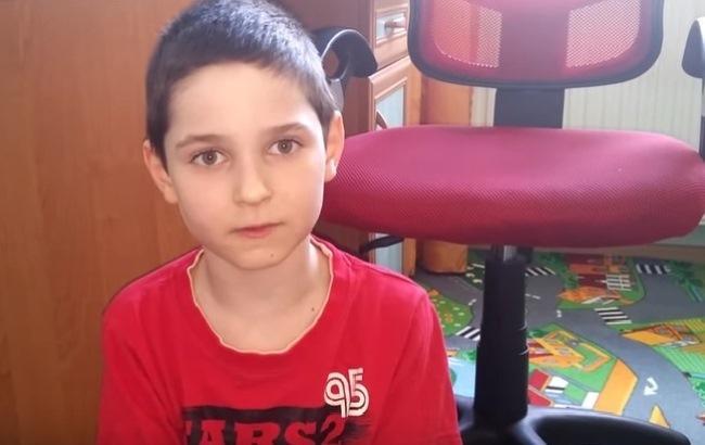 Фото: 9-летний поляк Камиль Вронский (radyjo.net)