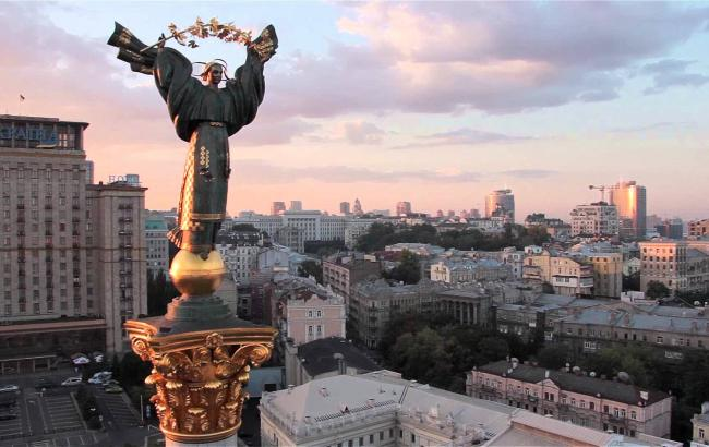 Київ - адміністративний центр області