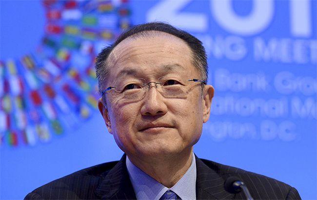 Фото: президент Світового банку Джим Ен Кім