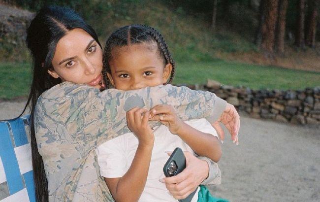 Папина копия: Ким Кардашьян восхитила сеть красотой подросшего сына от Канье Уэста