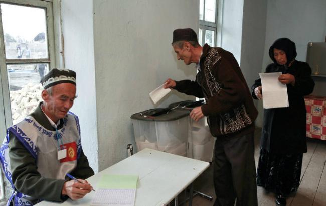 У Киргизії проходять парламентські вибори