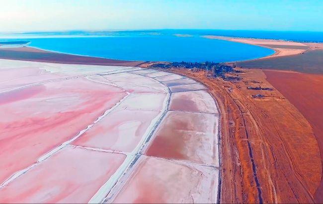 Розовые озера, пустыня и каньон: что увидеть на Херсонщине