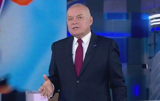 "Российский пропагандист Киселев, расхваливавший ""Спутник"", госпитализирован с COVID-19"