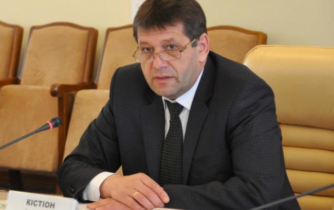Фото: вице-премьер-министр Владимир Кистион
