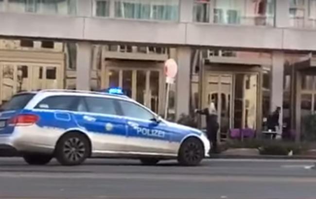 Фото: появилось видео с места аварии в Германии