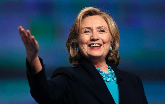 Фото: экс-госсекретарь Хиллари Клинтон