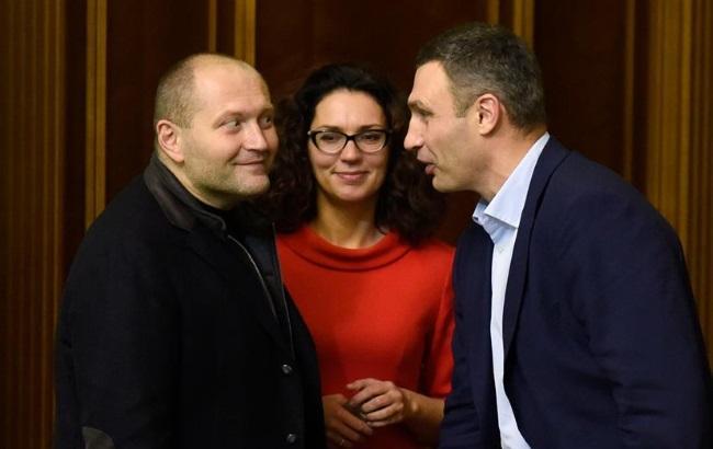 """Кличко и Береза провели """"дебаты"""" в Раде"""