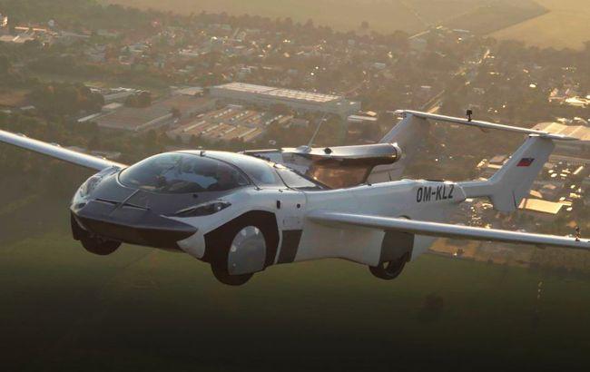 Літаюча машина трансформер пролетіла між містами - відео | Стайлер