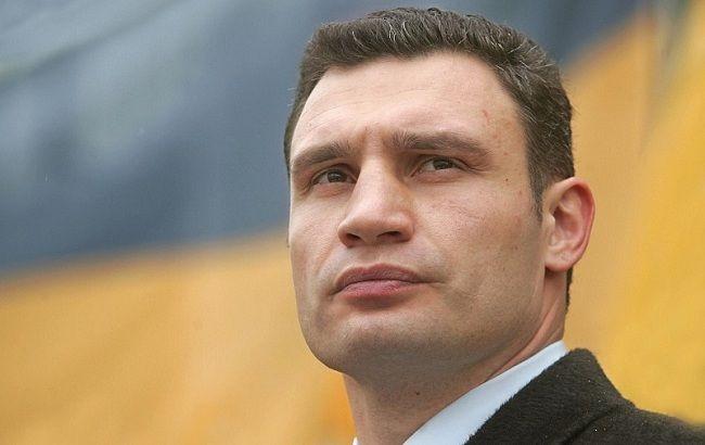 Кличко пообещал построить вцентре столицы Украины новый мост иканатную дорогу