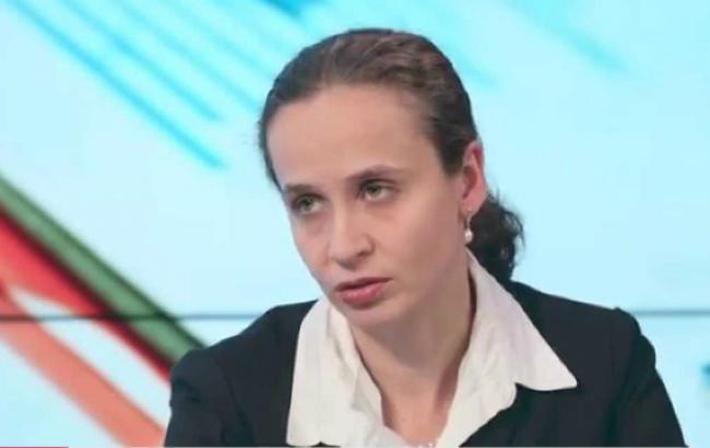 Фото: заступник голови МЕРТ Юлія Клименко