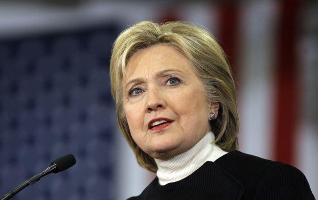 Фото: кандидат на посаду президента США Хіларі Клінтон