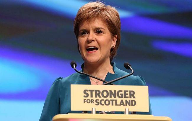 Фото: премьер-министр Шотландии Никола Стерджен