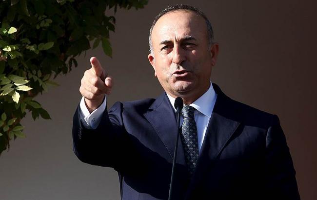 Фото: глава МИД Турции Мевлют Чавушоглу