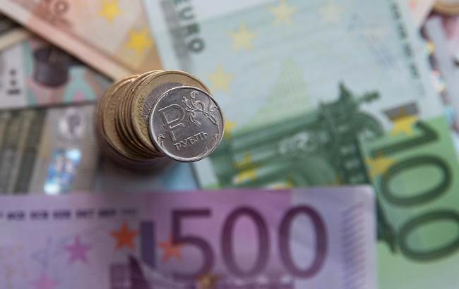 Фото: на Московській біржі виріс курс євро до рубля