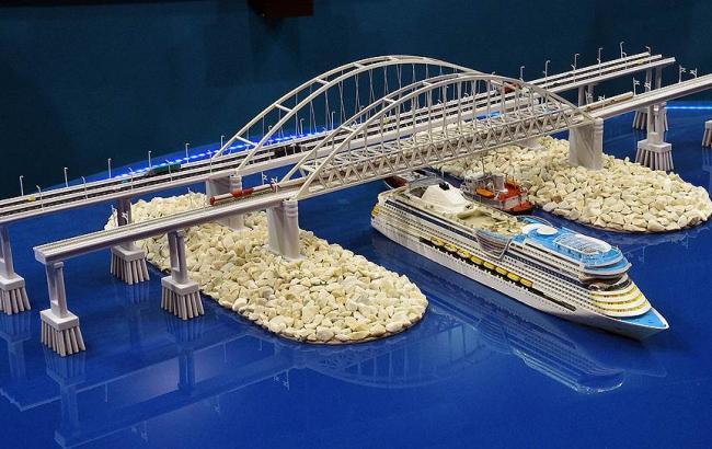 Фото: Проект Керченського мосту (kommersant.ru)