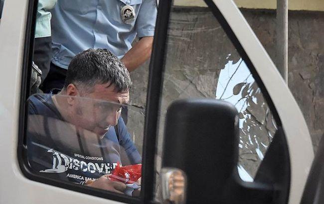 Фото: заарештований у Криму українець Євген Панов