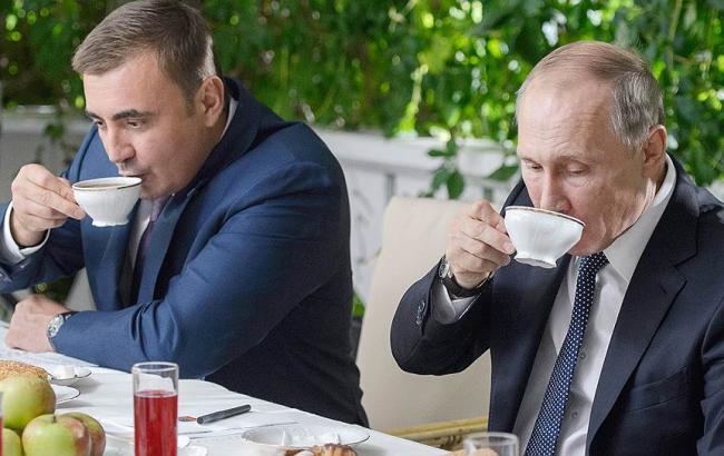 Фото: Олексій Дюмін і Володимир Путін (kommersant.ru)