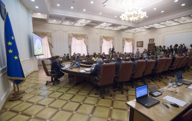 Фото: заседание правительства (пресс-служба Кабмина)