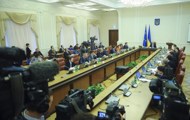 Фото: заседание Кабинета министров Украины (пресс-служба КМУ)