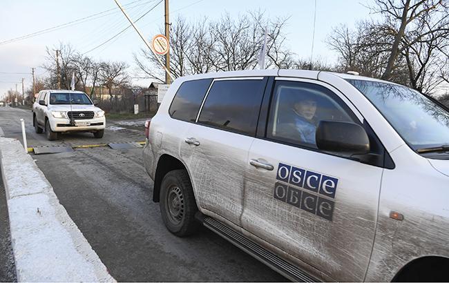 СММ ОБСЕ зафиксировала обстрел боевиками жилых домов Чермалика