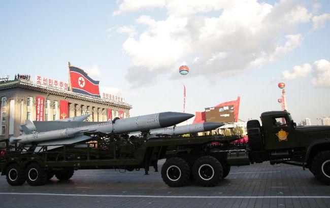 """Фото: за використання ядерної зброї КНДР буде """"перетворено в попіл"""""""