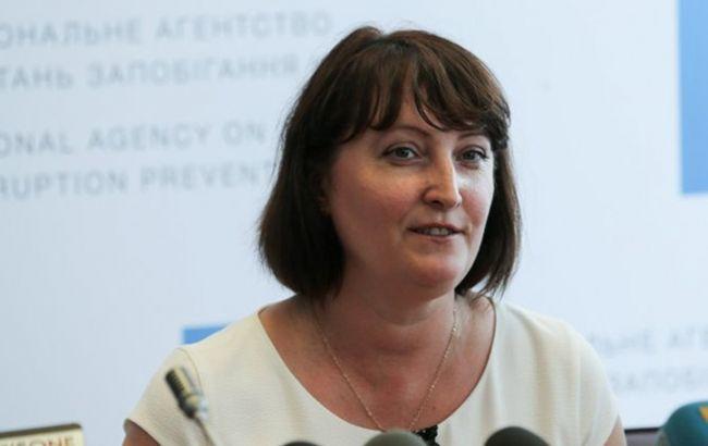 Корчак опровергла обвинение в блокировании начала проверок е-деклараций