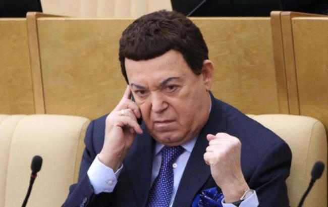 Кобзон у Держдумі РФ
