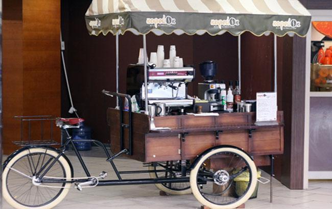 Фото: Во Львове популярны передвижные велокофейни (coffeeblog.in.ua)