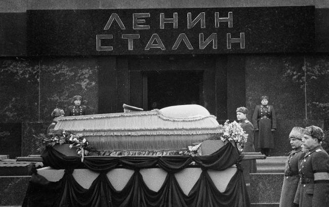 Фото: Похорон Сталіна