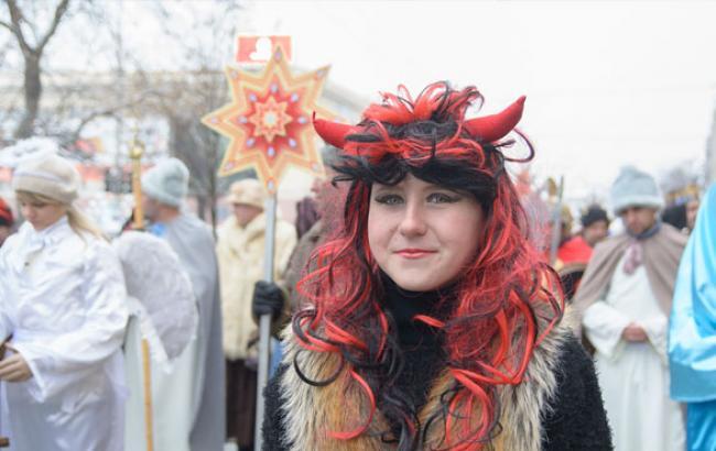 Фото: Учасниця харківського Вертеп-фесту (youtube.com)