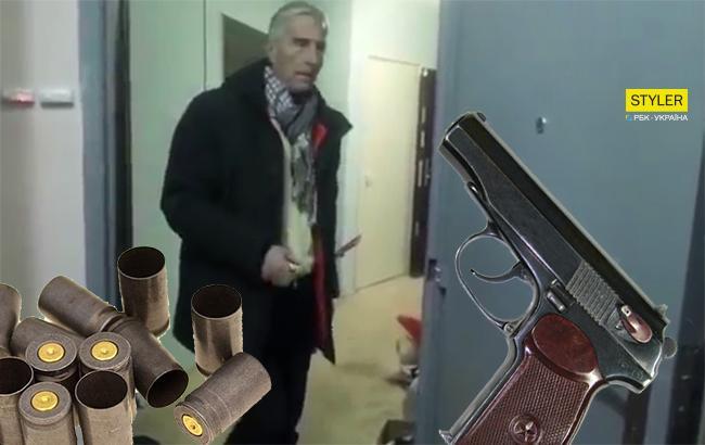 У мережі з'явилося відео, як пенсіонер розстріляв колекторів у себе в квартирі
