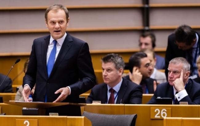 Глава Європейської Ради Дональд Туск
