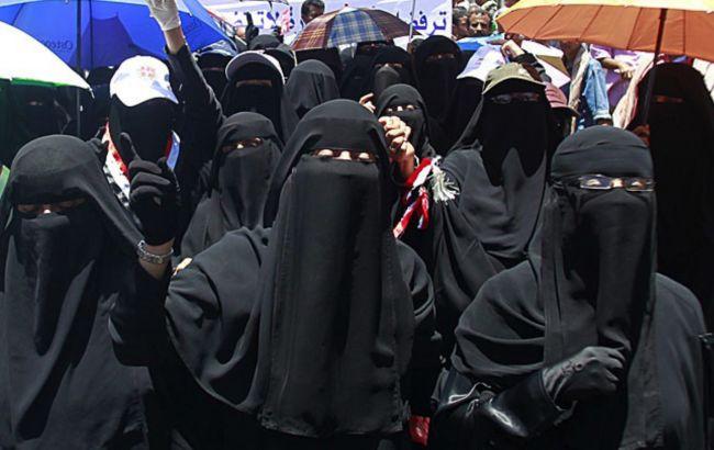 Фото: жінки в бурках