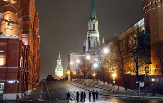 Фото: В Москве оцепили Красную Площадь