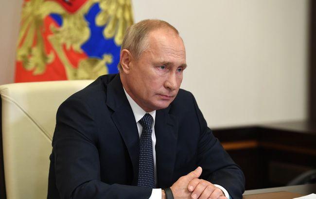 Путін звинуватив Україну у небажанні повертати окупований Донбас