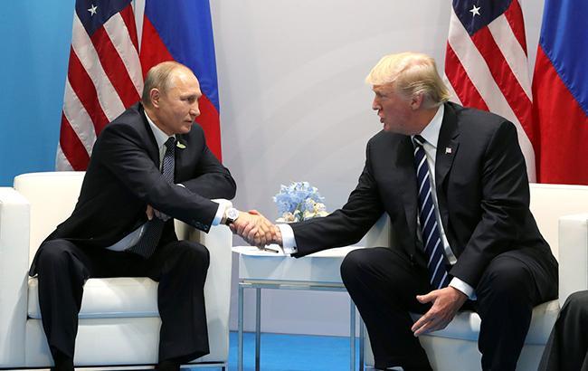 Трамп розповів, як тиснув на Путіна при зустрічі на G20