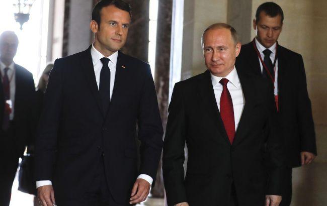 Макрон планирует переговоры с Путиным. Будут говорить об Украине