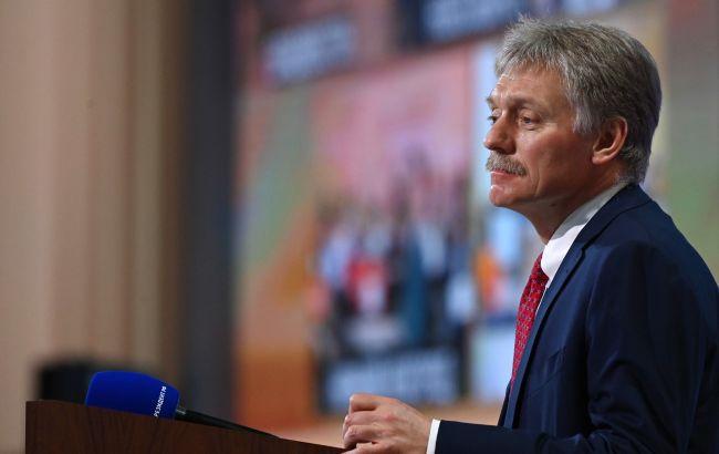 Кремль о форме сборной Украины: нужно дождаться официальной реакции УЕФА