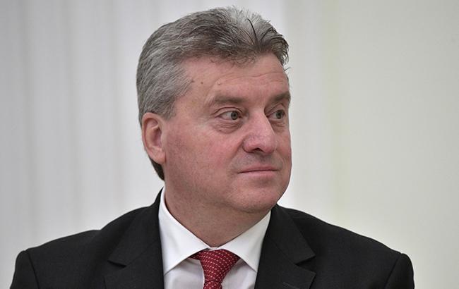 Президент Македонии отказался подписать документ о переименовании страны
