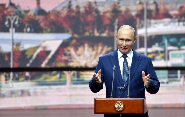 Путин заявил что иностранцы начали откачку газа из украинских ПХГ