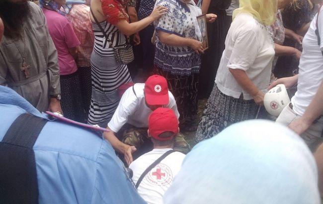 Фото: деякі паломники скаржилися на проблеми зі здоров'ям
