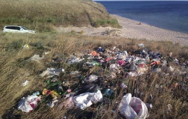Фото: Пляж в Криму (15minut.org)